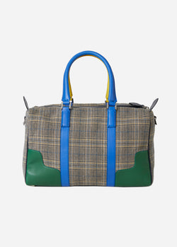 Tibi Mercredi Bag Plaid Multi-2