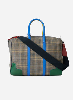 Tibi Lundi Bag Plaid Multi-3