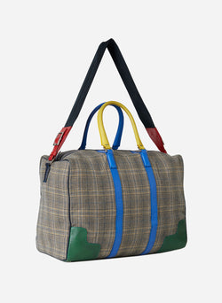 Tibi Lundi Bag Plaid Multi-2