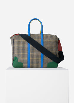 Tibi Lundi Bag Plaid Multi-1
