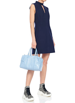 Tibi Mercredi Bag Blue Grey-5