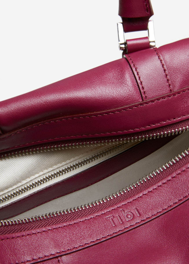 Tibi Mercredi Bag Dusty Plum-8