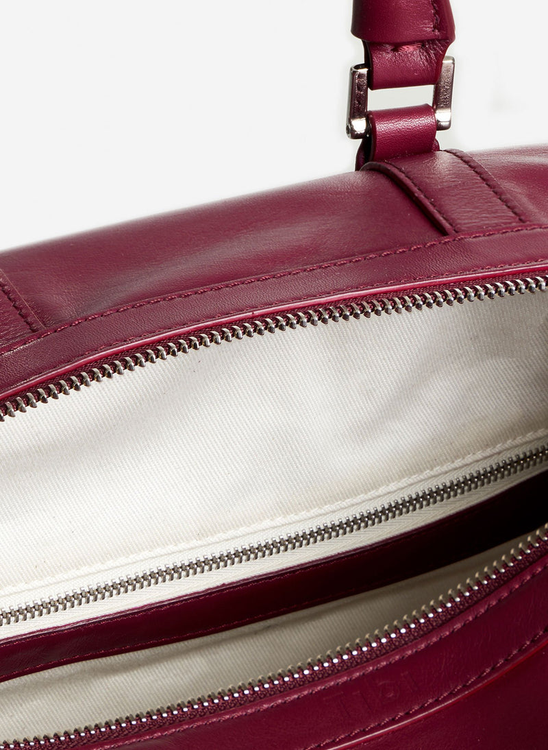 Tibi Lundi Bag Dusty Plum-5