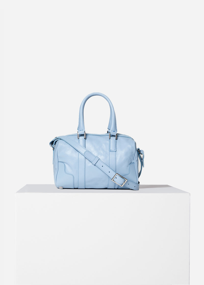 Tibi Samedi Bag Blue Grey-1