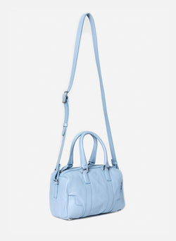 Tibi Samedi Bag Blue Grey-2