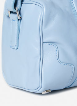 Tibi Samedi Bag Blue Grey-3