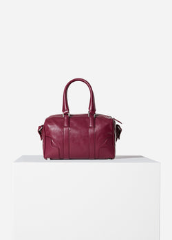 Tibi Samedi Bag Dusty Plum-4