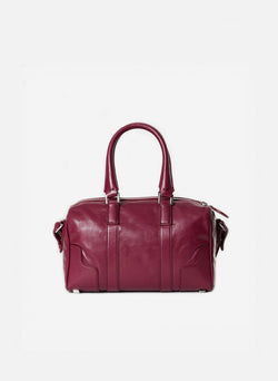 Tibi Samedi Bag Dusty Plum-5