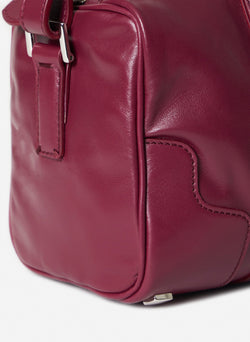 Tibi Samedi Bag Dusty Plum-6