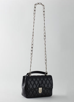 Quilted Lady Bag Black-2