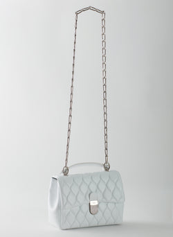 Quilted Lady Bag White-8