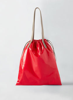 Tibi Vinyl Bag Red Multi-7