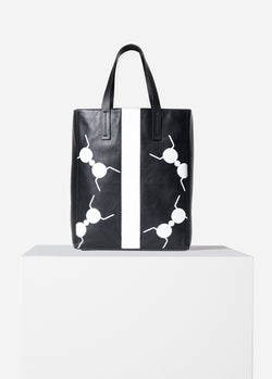 Tibi Le Client Tote Bag Black Multi-1