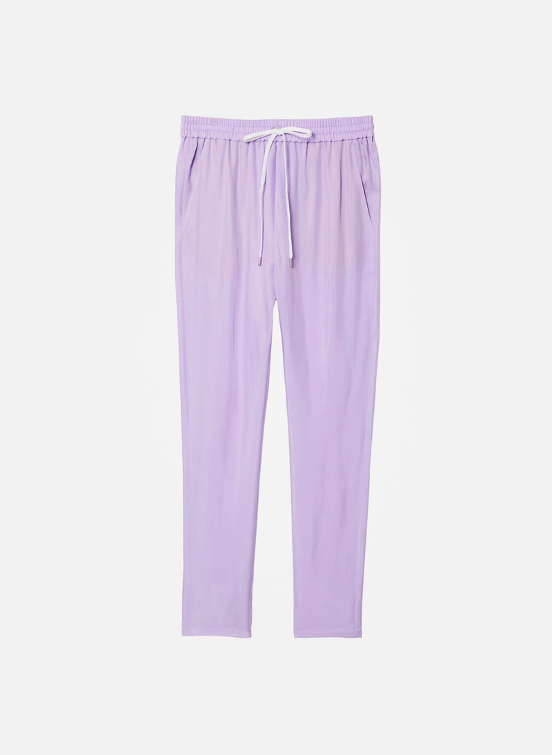 Cupro Pull On Pant Lavender-5