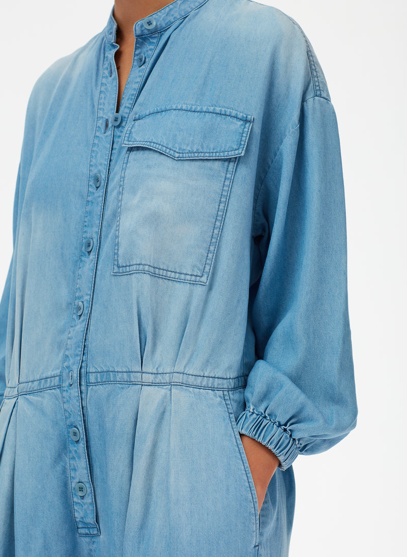 Light Weight Denim Jumpsuit Light Weight Denim Jumpsuit