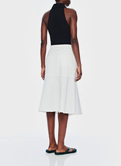 Dominic Twill Skirt White-12