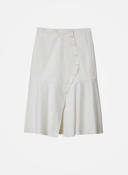 Dominic Twill Skirt White-14