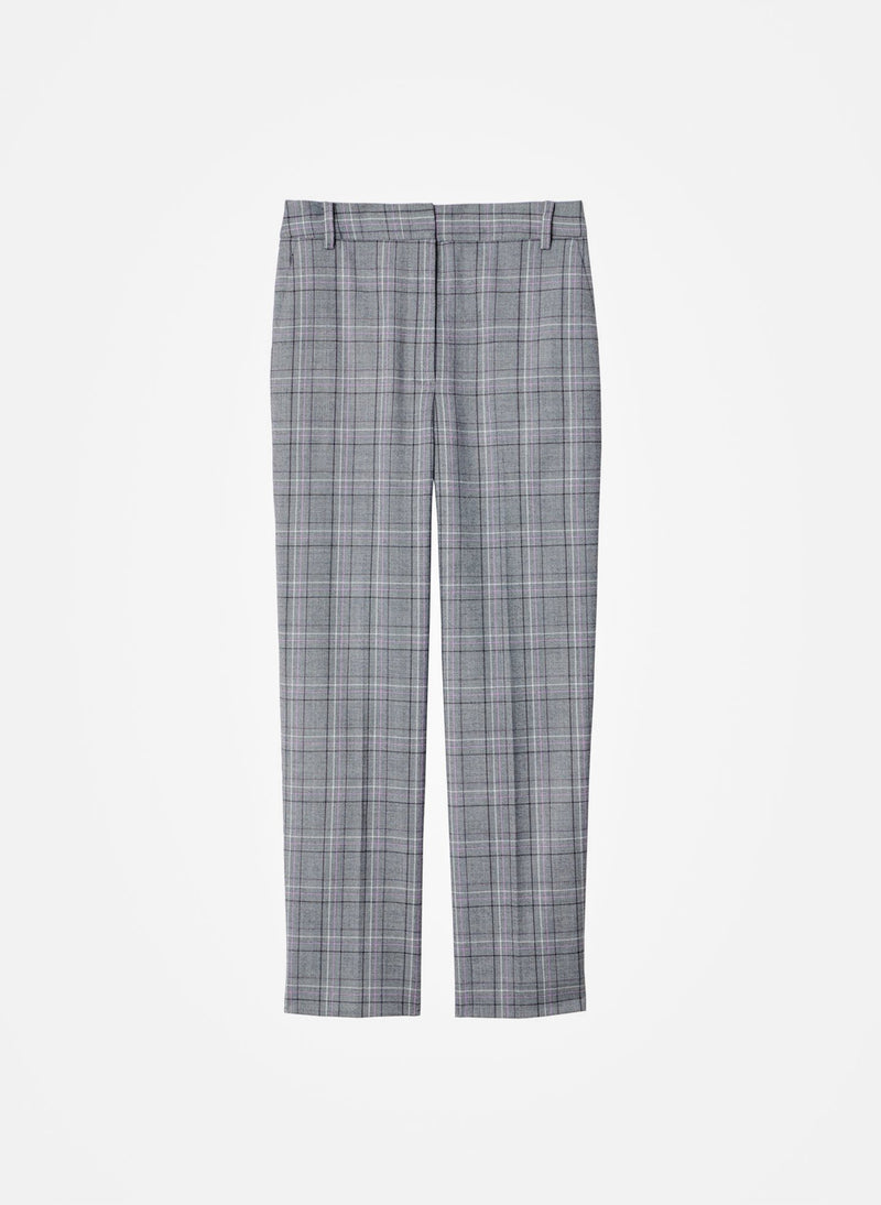 James Menswear Check Taylor Pant Black/Lavender Multi-6