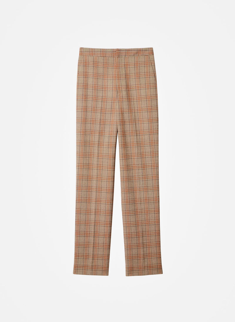 James Menswear Check Taylor Pant Brown/Black Multi-13