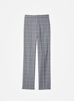 James Menswear Check Sebastian Pant Black/Lavender Multi-11