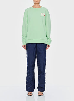 Lightweight Sweatshirt Pullover Mint-1