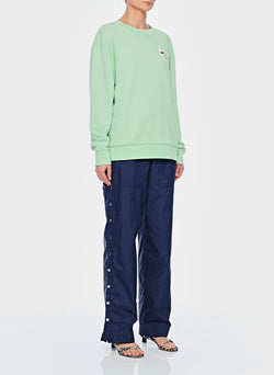 Lightweight Sweatshirt Pullover Mint-2