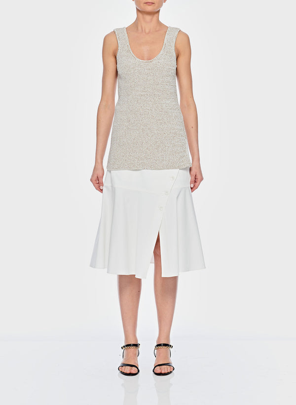 티비 스웨터 Tibi Tech Tweedy Sweater Tank