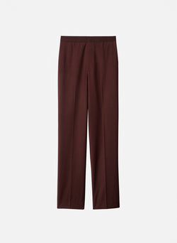 Tropical Wool Sebastian Pant Dark Brown-6