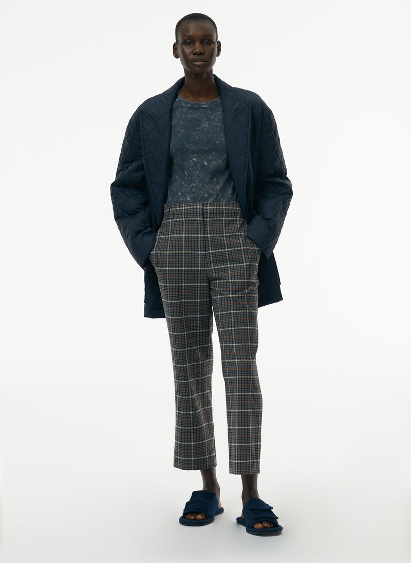 Gabe Menswear Suiting Taylor Midrise Pant Grey Multi-6