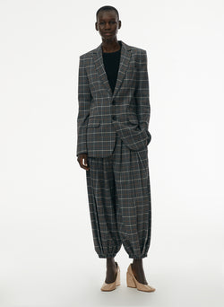 Gabe Menswear Suiting Blazer Grey Multi-5