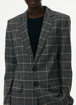 Gabe Menswear Suiting Blazer Grey Multi-4