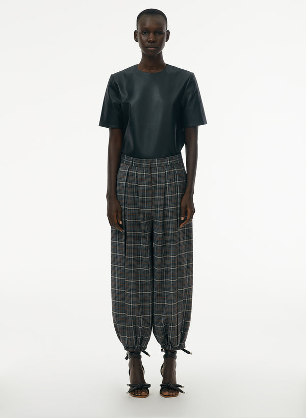 Gabe Menswear Suiting Pleated Balloon Pant