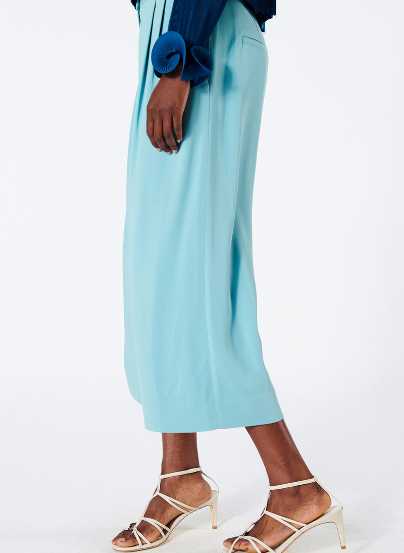 Stella Wide Leg Cropped Pants Stella Wide Leg Cropped Pants