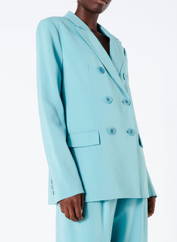 Steward Blazer Egg Blue-1