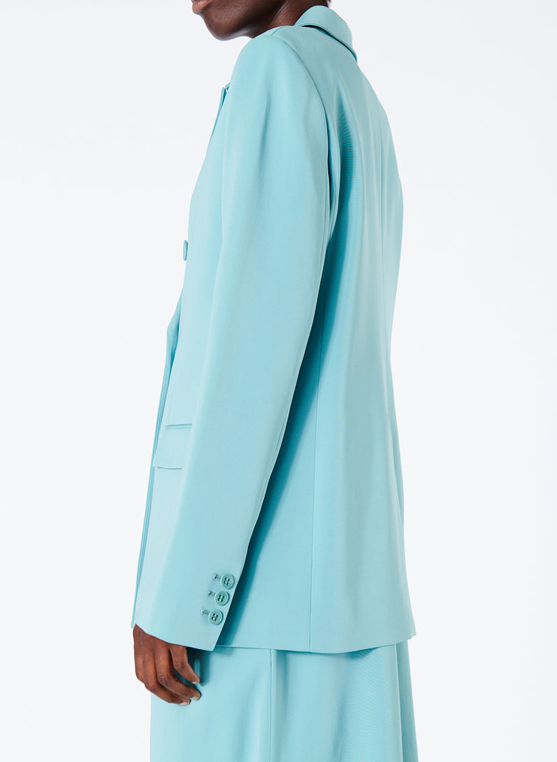 Steward Blazer Egg Blue-3