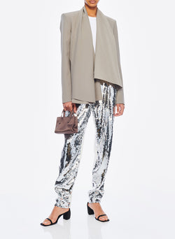 Sequin Pant Ivory/Silver Multi-4