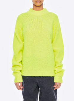 Cozette Alpaca Pullover Lemon Yellow-7