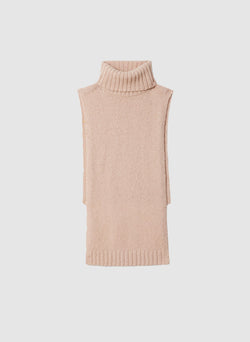 Cozette Alpaca Turtleneck Dickey Light Burlywood-4