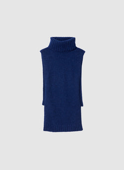 Cozette Alpaca Turtleneck Dickey Navy-8