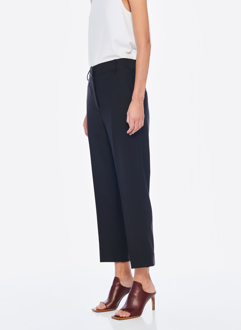 Tropical Wool Taylor Pant Black-4