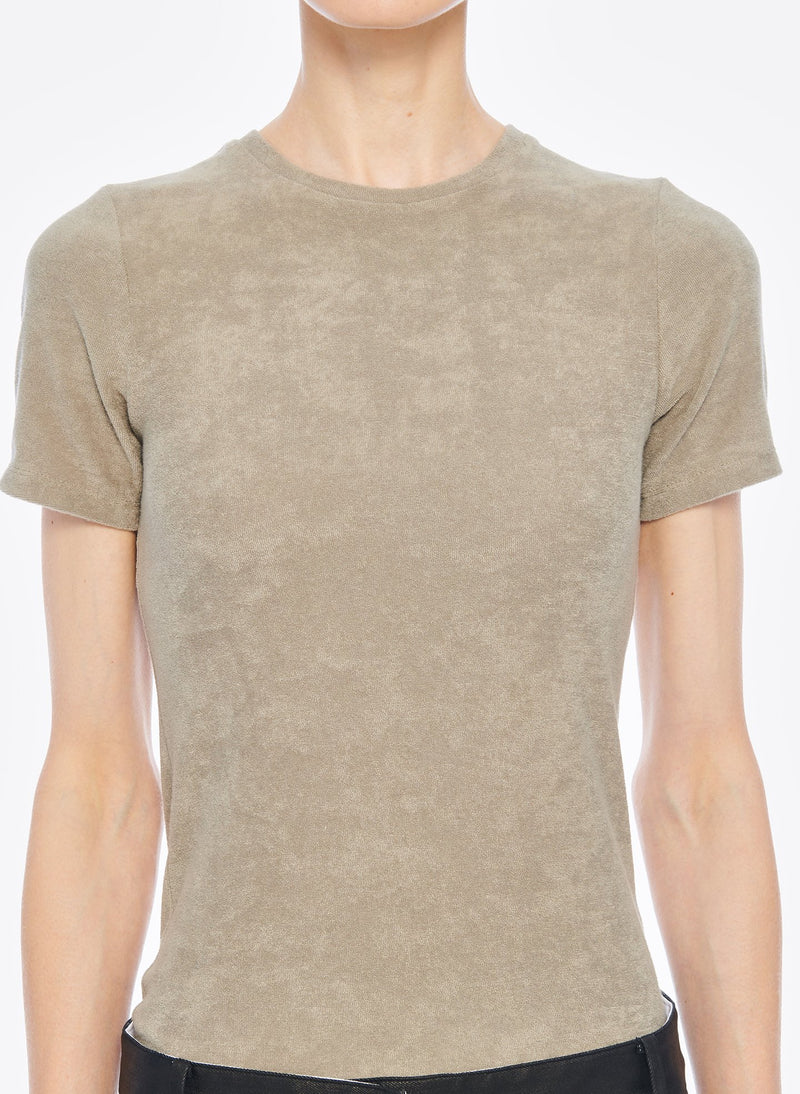 Dry Loop Terry Baby T-shirt Moss-4