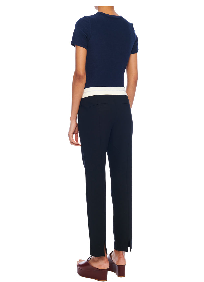 Anson Stretch Beatle Pant with Outside Waistband Anson Stretch Beatle Pant with Outside Waistband