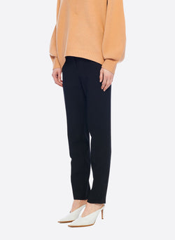 Anson Stretch Jamie Pant Black-2