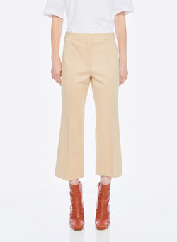Bond Stretch Knit Jane Cropped Bootcut Pant Light Burlywood-8