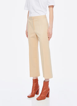 Bond Stretch Knit Jane Cropped Bootcut Pant Light Burlywood-9