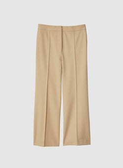 Bond Stretch Knit Jane Cropped Bootcut Pant Light Burlywood-14