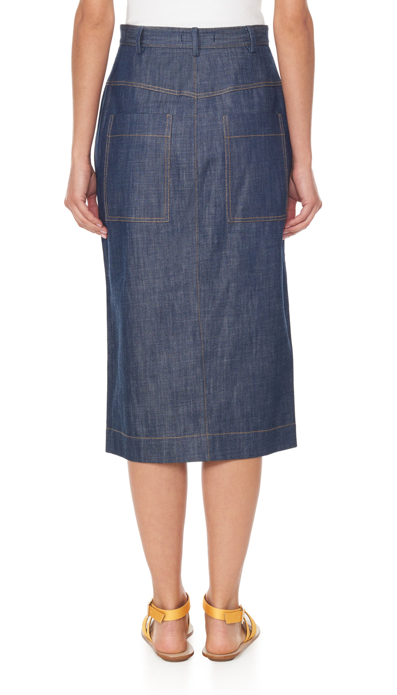 Raw Denim Jamie Skirt Raw Denim Jamie Skirt
