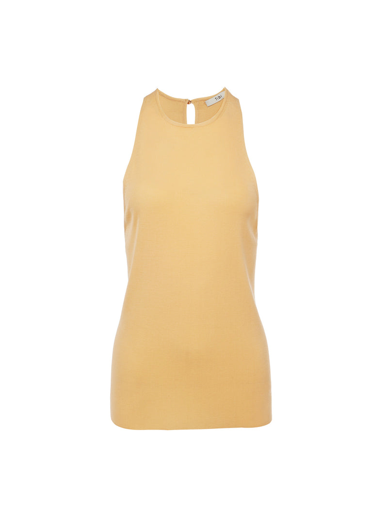 Claire Sweater Tank Light Apricot-7