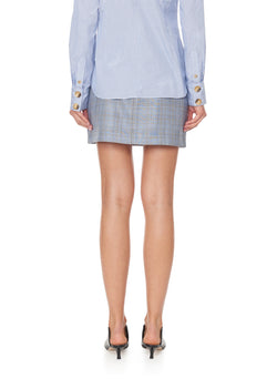 Cooper Menswear Mini Skirt Grey Multi-2
