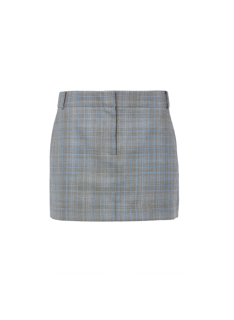 Cooper Menswear Mini Skirt Grey Multi-4